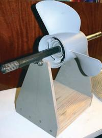 Простейший балансировочный станок — вал на четырех подшипниках
