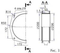 Рис. 3. Примерная конструкция кольца