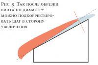 Рис. 9. Подкорректировать шаг в сторону увеличения