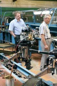 Сборочное производство - на линии новые моторы