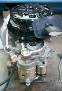 Силовой агрегат Нептуна с рабочим объемом 408 см3