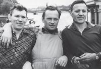 Слева направо: Иван Ремнев, Валерий Атаманов, Валентин Исаков