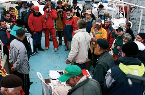 Собрание членов яхт-клуба