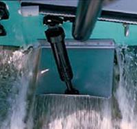 Транцевая плита на лодке