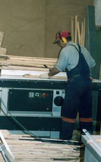 Участок деревообработки в ожидании станков с ЧПУ