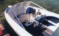 Универсальная рулевая консоль устанавливается и на закрытые, и на открытые лодки