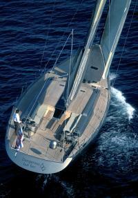 Вид сверху на яхту Wally 80