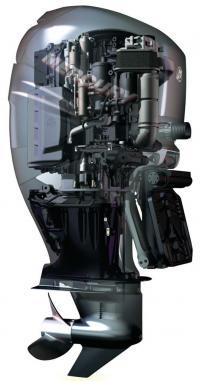 Внешний вид подвесного мотора Verado