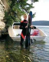 Водные лыжники довольны катером