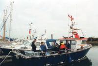 Выход в море во второй день