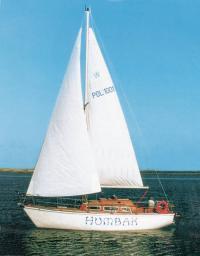 Яхта из армоцемента Humbak