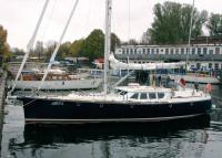Яхта Мета на воде