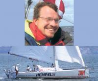 Ян Меллер и его яхта
