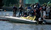 Заправка и проверка лодок на пит-стопе